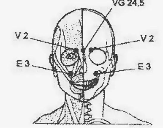 Какие точки массировать при головной боли