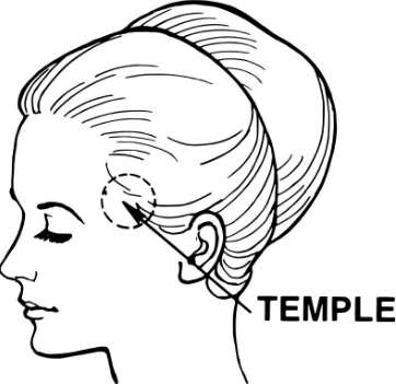 Непроходящая головная боль в височной области